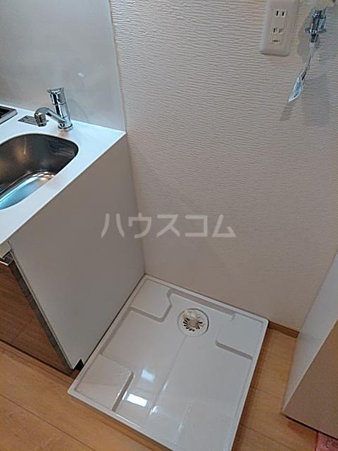 フォレール 1C号室の洗面所