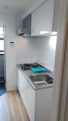 フェリオ与野 102号室のキッチン