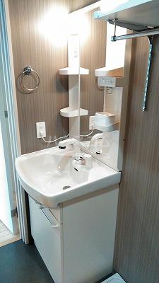 フェリオ与野 103号室の洗面所