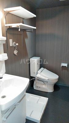 フェリオ与野 303号室の洗面所