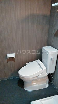 フェリオ与野 305号室のトイレ