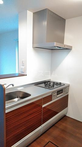 セリシール 101号室のキッチン