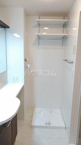 セリシール 101号室の洗面所