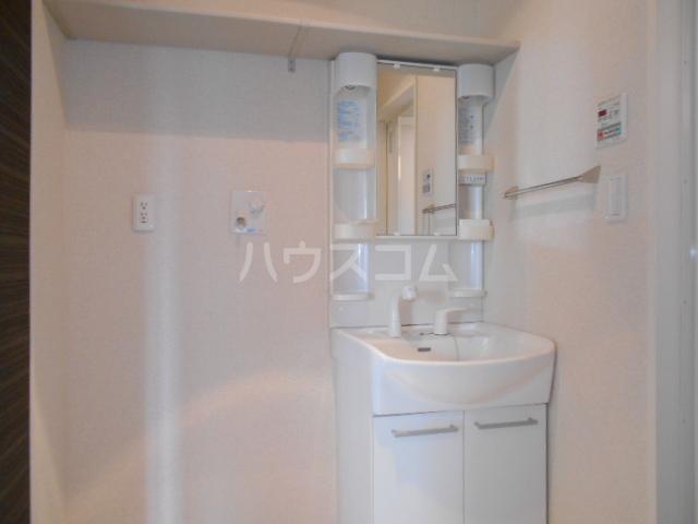 ヴィラ彩風 101号室の洗面所