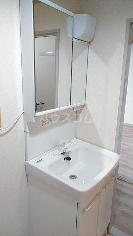 パームハイツI 401号室の洗面所