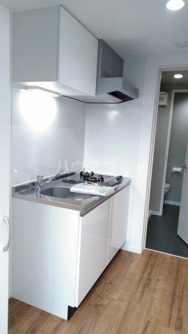 3F HAUS 101号室のキッチン