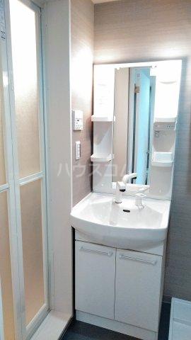 IL SOLE 303号室の洗面所