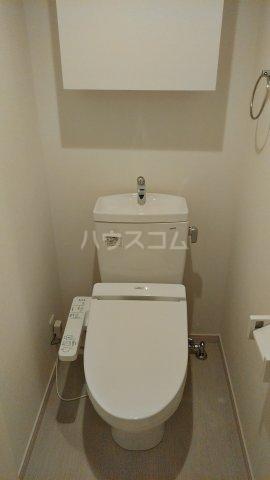 リブリ・ゆり本町 106号室のトイレ