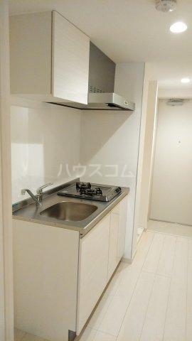 リブリ・ゆり本町 205号室のキッチン