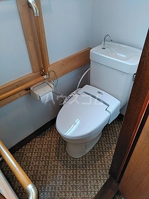 コーポタカノ 102号室のトイレ