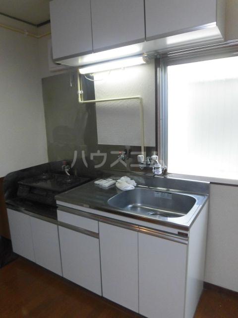学大コーポ 101号室のキッチン