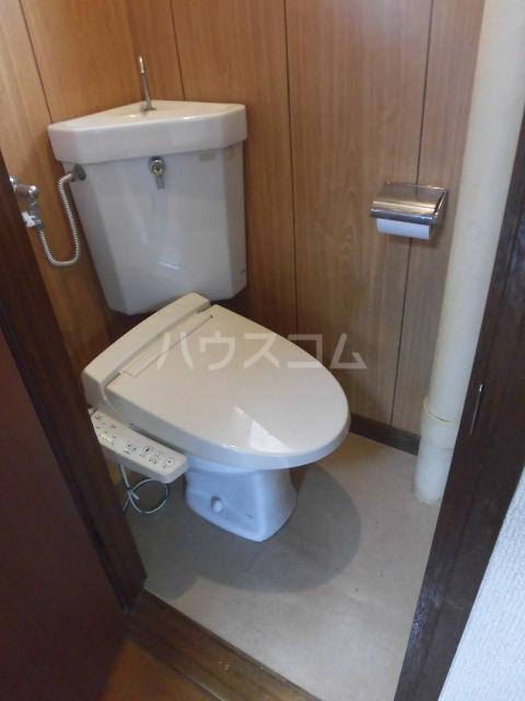 学大コーポ 101号室のトイレ