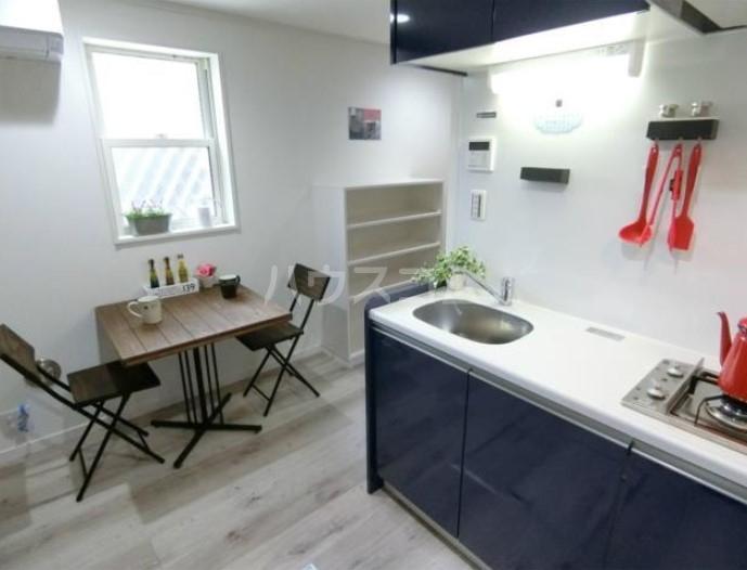 ハーミットクラブハウス目黒Ⅱ 05号室のキッチン