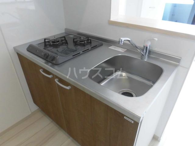 アプリーレ五本木 201号室のキッチン