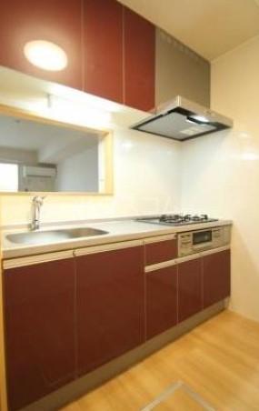 コルノリザイア 101号室のキッチン