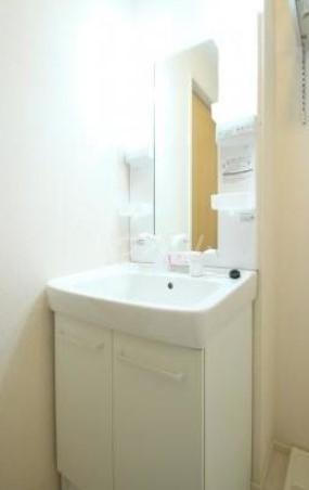 コルノリザイア 101号室の洗面所