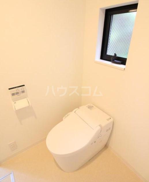 イデアル学芸大学 102号室のトイレ