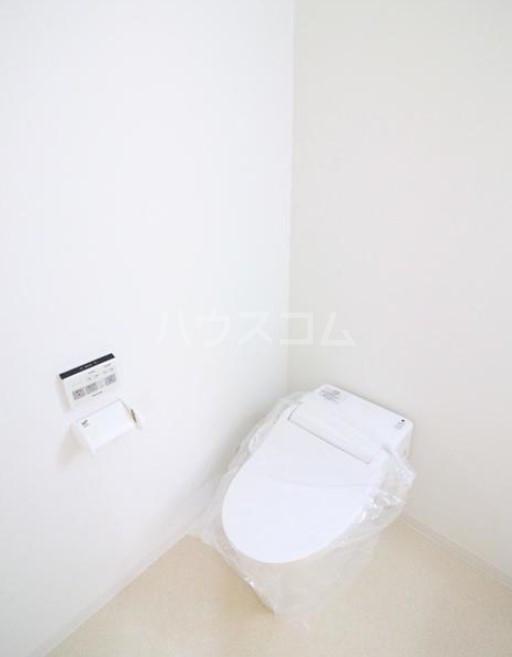 イデアル学芸大学 202号室のトイレ