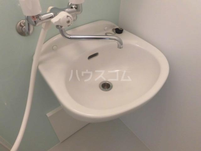 CASA DOMANIⅡ 都立大学 102号室の洗面所