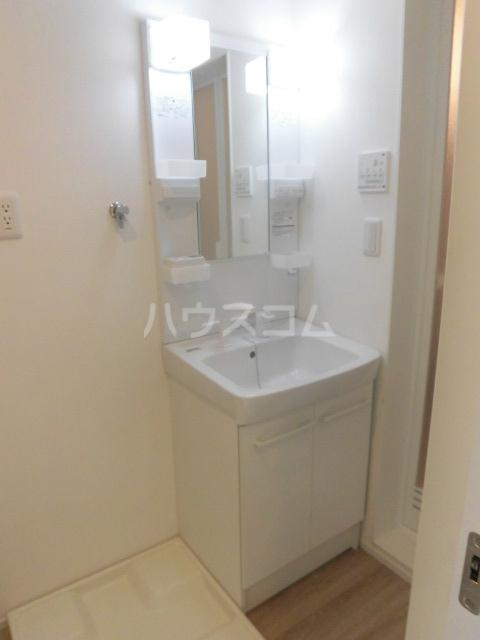 エルスール都立大学 203号室の洗面所