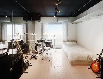 サウンドプルーフプロ学芸大学 303号室のリビング