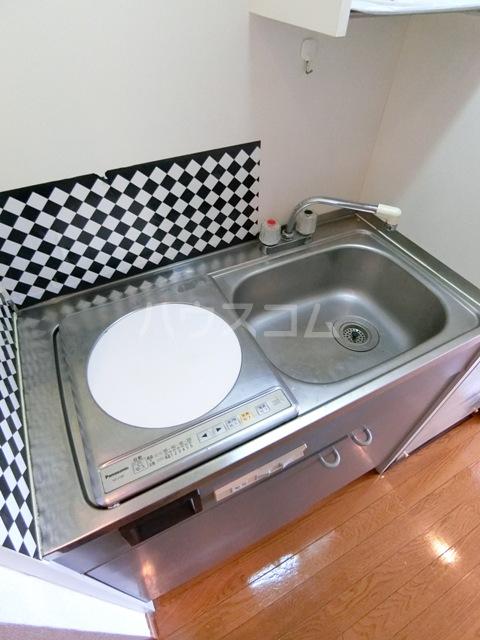 スペーステック松島 603号室のキッチン