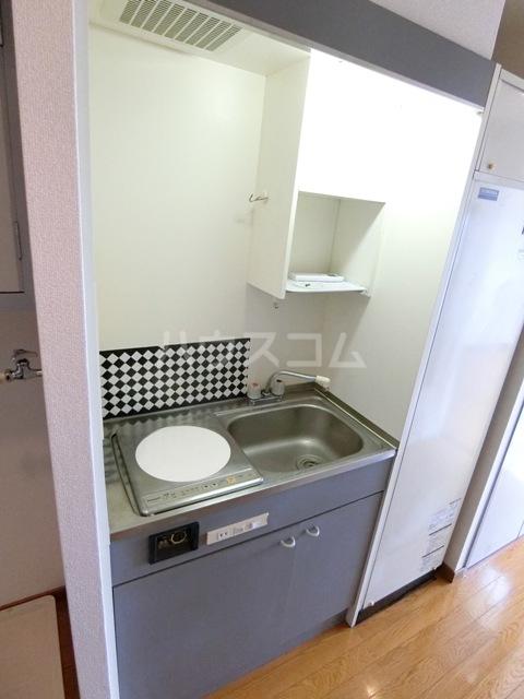 スペーステック松島 606号室のキッチン