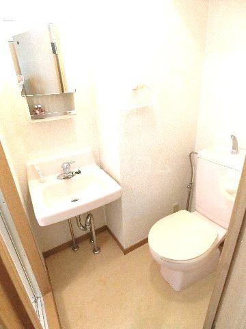ダイナコートエスタディオ東公園 201号室のトイレ