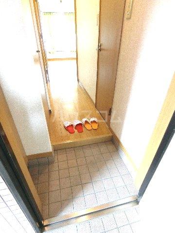 ダイナコートエスタディオ東公園 201号室の玄関