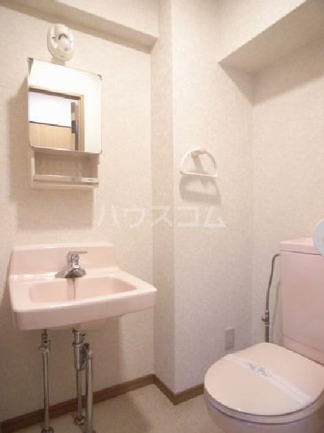 ダイナコートエスタディオ東公園 303号室のトイレ