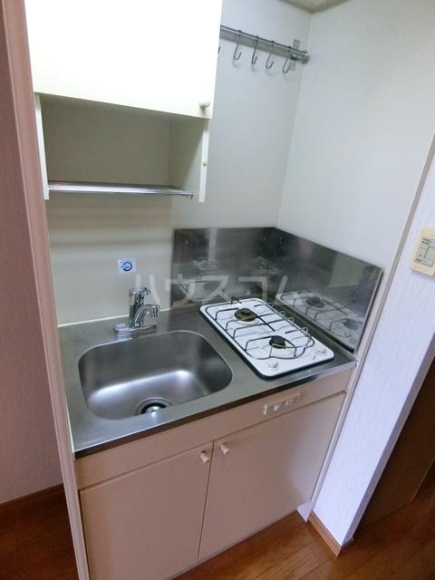 ダイナコートエスタディオ東公園 602号室のキッチン