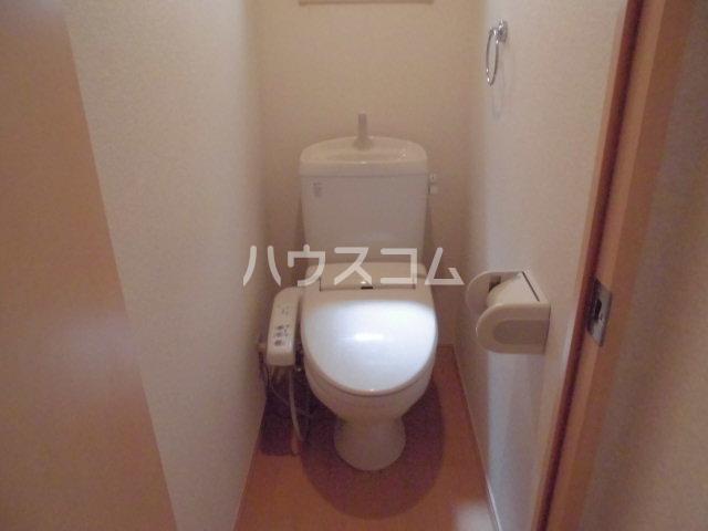 パームテラス 205号室のトイレ