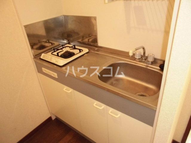 グラシャス'97 203号室のキッチン