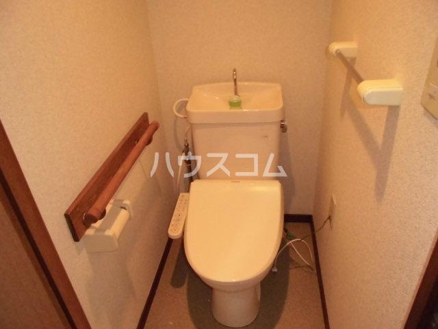 グラシャス'97 203号室のトイレ
