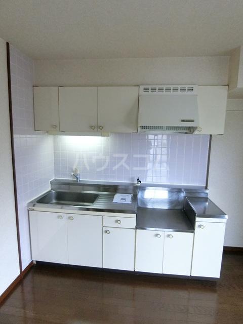 グラシャス'97 702号室のキッチン