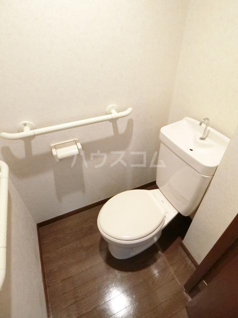 グラシャス'97 702号室のトイレ