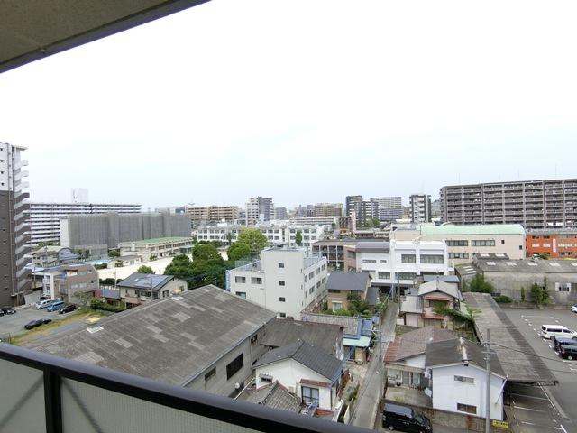 グラシャス'97 702号室の景色