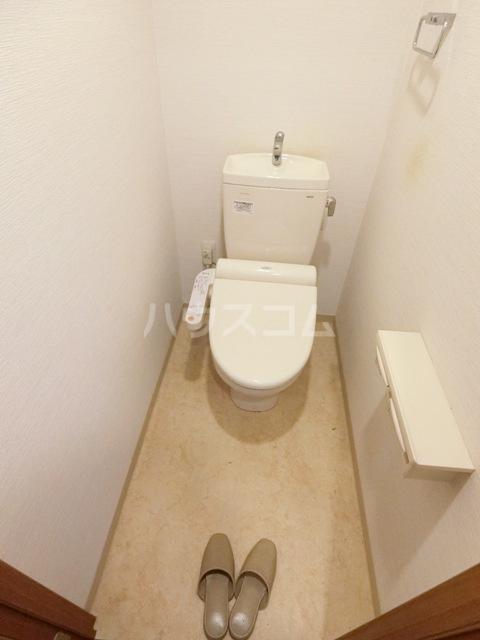 THYME 602号室のトイレ