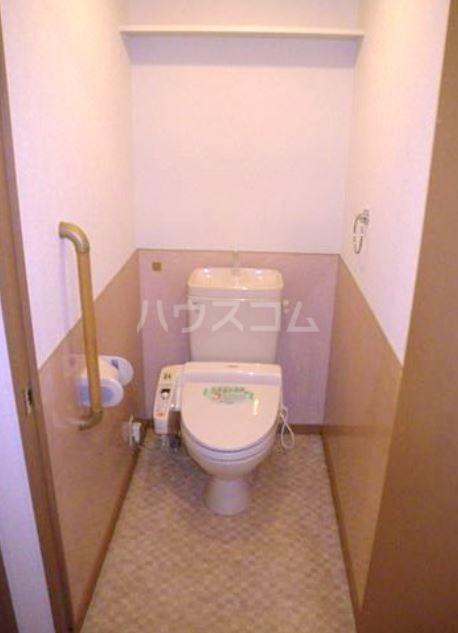 ボヌール・ヴィー篠栗 403号室のトイレ