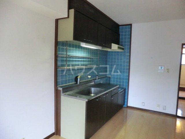 レジデンス・ウィステリア24 402号室のキッチン