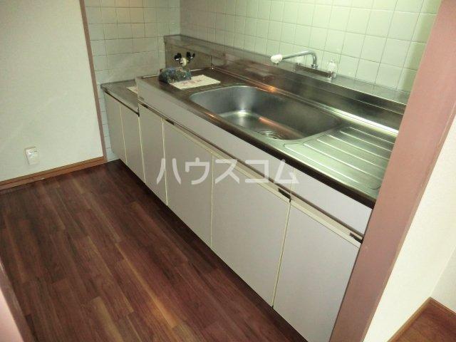 ウッディコート 603号室のキッチン