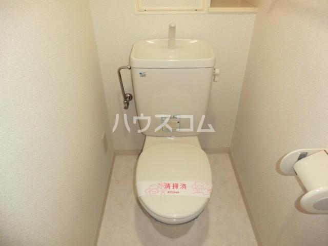 ウッディコート 603号室のトイレ