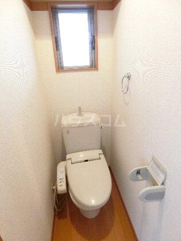 サンシティ箱崎 201号室のトイレ