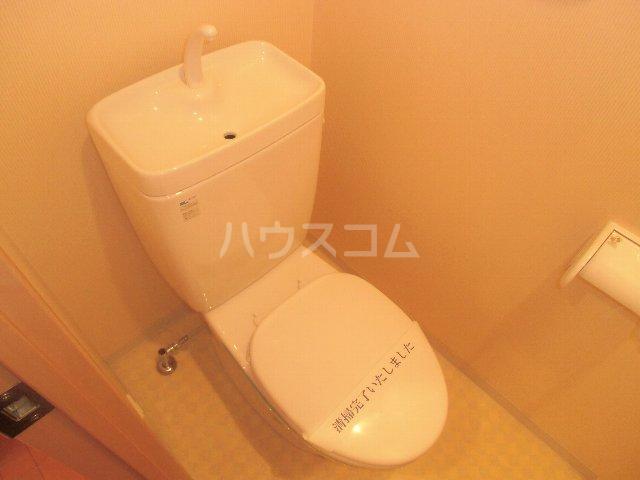 CASSIOPEIA HAKOZAKI 805号室のトイレ