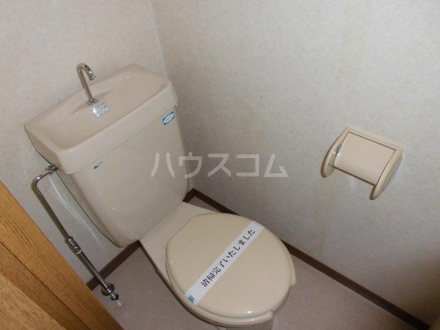 イーストパーク36 601号室のトイレ