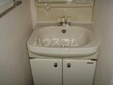 プロニティ・S 206号室の洗面所