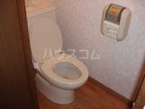 プロニティ・S 206号室のトイレ