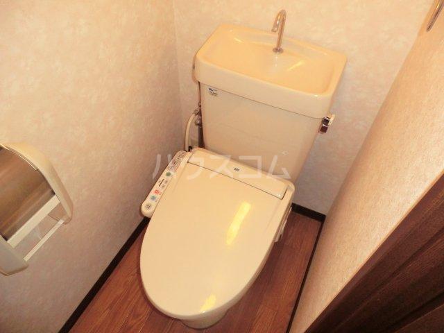 グランディール内橋 B102号室のトイレ