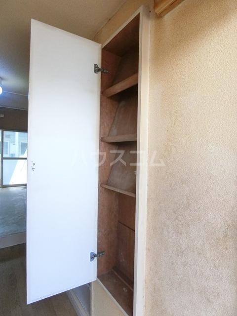 ウイング筥松 B106号室の収納