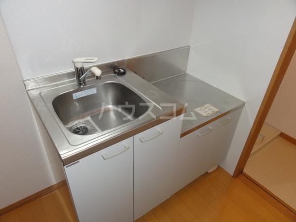 ベネフィスタウン箱崎東6 202号室のキッチン